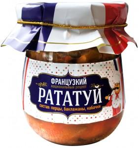 Баклажанный салат Рататуй - готовый консервированный салат Спело-Зрело